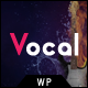 Vocal -  WordPress Theme for Voice Over Artists - ThemeForest Item for Sale
