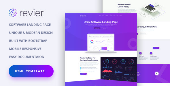 7 Best HTML Technology Website Templates  for August 2020