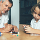 Doctor watches a diabetic child - PhotoDune Item for Sale