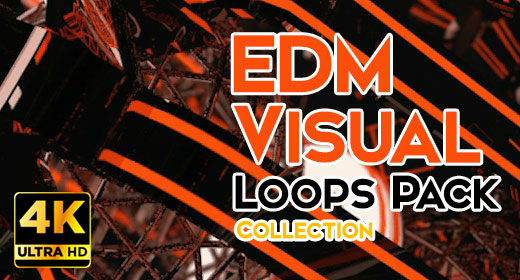 EDM Visual Loops Pack Collection 4K UHD