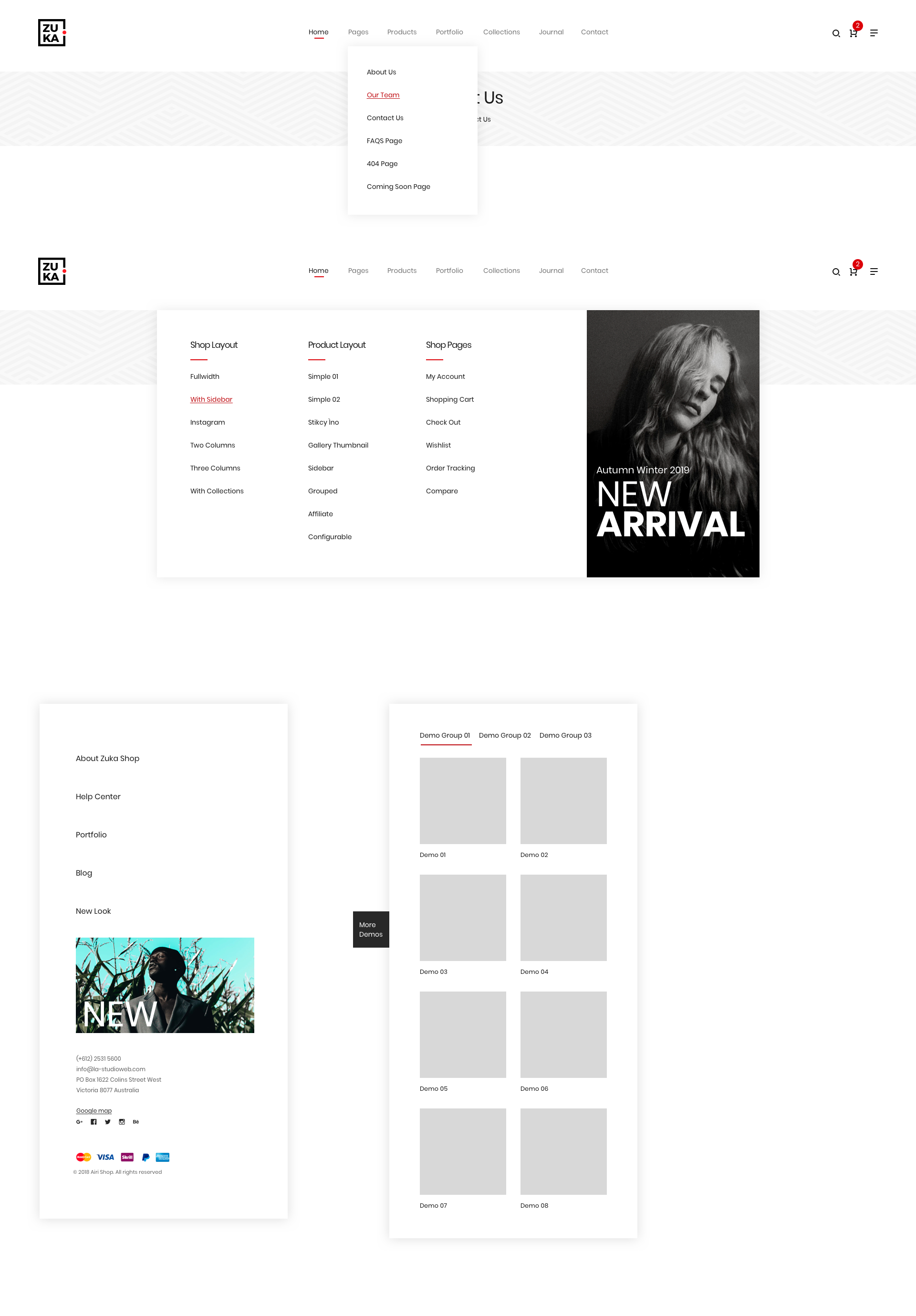 ZUKA - Multipurpose Sketch Templates