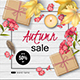 Set of Autumn Advertising Banners - GraphicRiver Item for Sale
