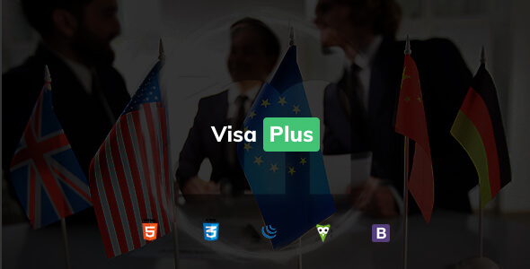 VisaPlus - Immigration and Visa Consulting HTML Template