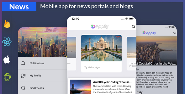 News app + backend ( React native Expo app )            Nulled