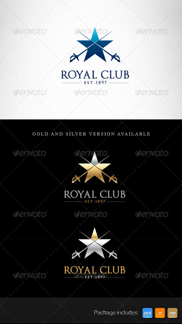 Royal Club Creative Logo Template - Symbols Logo Templates