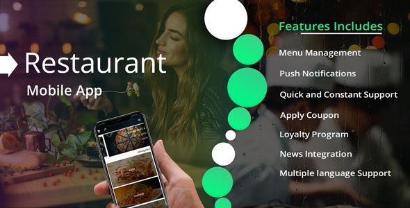 Flutter Restaurant App - CodeCanyon Item for Sale