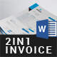 Invoice Bundle - 2in1 - GraphicRiver Item for Sale
