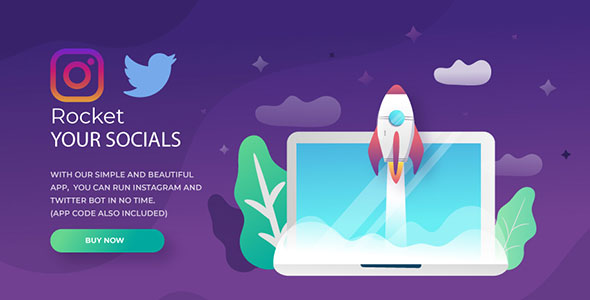 Instagram and Twitter Bot            Nulled