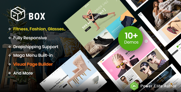 Box - The Clean, Minimal & Multipurpose Shopify Theme with