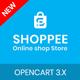 Shoppee OpenCart 3.X electronic Fashion shoes toys Theme