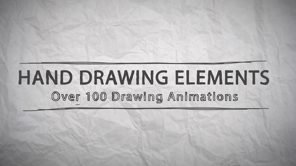 Hand Drawing Elements 22642064