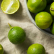 Raw Green Organic Key Limes - PhotoDune Item for Sale