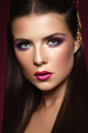 Beauty Brunette Woman with Perfect Make up. - PhotoDune Item for Sale