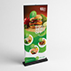 Restaurant Roll-Up Banner - GraphicRiver Item for Sale