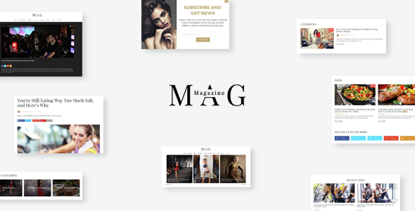 Mag | Online News & Magazine Joomla Template - Entertainment Joomla