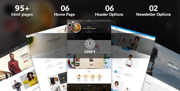 Unify – Multipurpose Joomla Template - Business Corporate