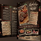 Rustic Cafe Menu - GraphicRiver Item for Sale