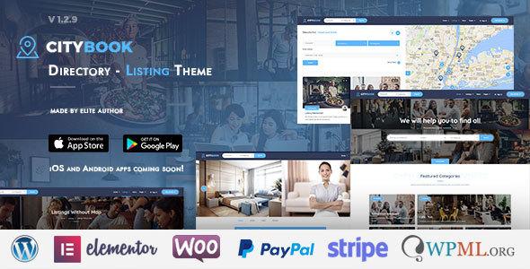 CityBook - Directory & Listing WordPress Theme - Directory & Listings Corporate