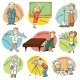 Cartoon Profession Set - GraphicRiver Item for Sale