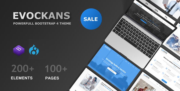Evockans - Multi-Purpose Business Drupal 8 Theme - Business Corporate