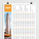 Poster Wall 2019 Calendar - GraphicRiver Item for Sale