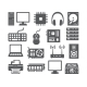 Computer Icons Set - GraphicRiver Item for Sale
