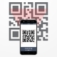 Smartphone Scanning QR Code - GraphicRiver Item for Sale
