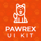 Pawrex: Pet Sitter, Groomer and Animal Shelter App UI - GraphicRiver Item for Sale