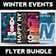 Winter Events Flyer Bundle V3 - GraphicRiver Item for Sale