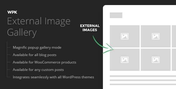 WPK External Images Gallery - CodeCanyon Item for Sale