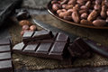 pieces of chocolate and cocoa seeds - PhotoDune Item for Sale