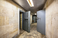 Corridor with open armored doors in an abandoned financial institution - PhotoDune Item for Sale