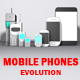 Low Poly Mobile Phones Evolution Pack - 3DOcean Item for Sale