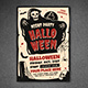 Halloween Party & Show Flyer - GraphicRiver Item for Sale