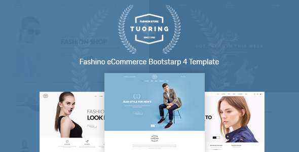 Tuoring – Fashion Store HTML Template