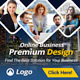 Business Service Banner Ads Template - GraphicRiver Item for Sale