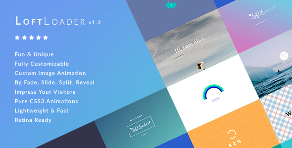 LoftLoader Pro - Preloader Plugin for WordPress - CodeCanyon Item for Sale