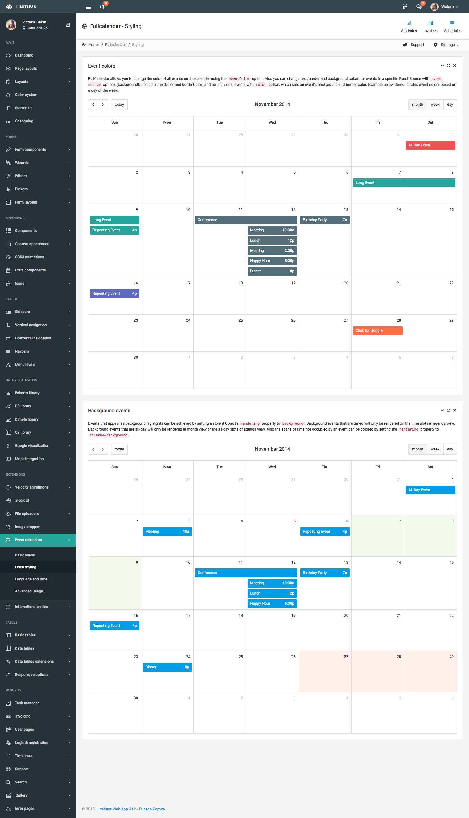 Limitless Responsive Web Application Kit By Kopyov Themeforest