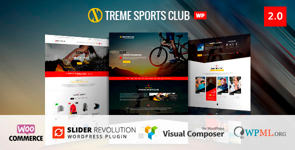 Xtreme Sports  - WordPress Theme - WooCommerce eCommerce