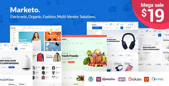 Marketo - ECommerce & Multivendor A Woocommerce WordPress Theme - WooCommerce eCommerce