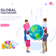 World Flat Isometric Vector - GraphicRiver Item for Sale