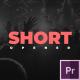 Dynamic Short Opener - VideoHive Item for Sale