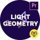 Light Geometry // Titles Pack for Premiere Pro - VideoHive Item for Sale