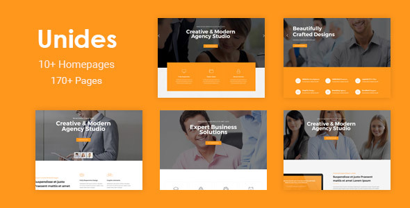 Unides - Responsive MultiPurpose Drupal 8 Theme - Corporate Drupal