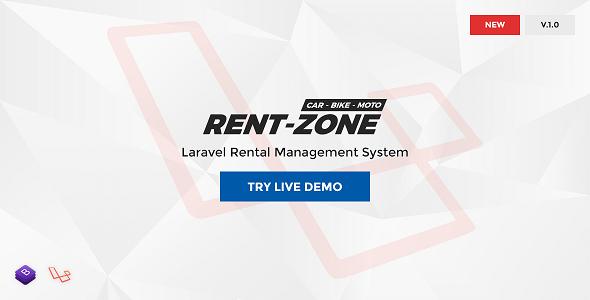 RentZone - Laravel Rental Management System            Nulled