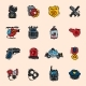 Police Icons - GraphicRiver Item for Sale