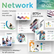 3 in 1 Social Network Pitch Deck Bundle Powerpoint Template - GraphicRiver Item for Sale