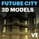 Future City V1 - 3DOcean Item for Sale