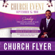 Church Event Flyer Template V4 - GraphicRiver Item for Sale