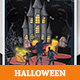 Halloween Ticket Invitation Card - GraphicRiver Item for Sale